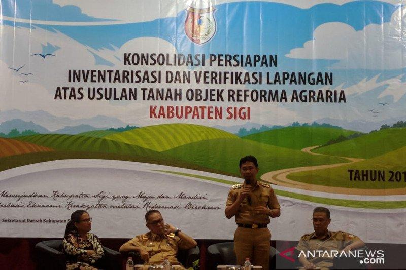 KPA Sulteng bantu Bupati Sigi implementasikan reforma agraria