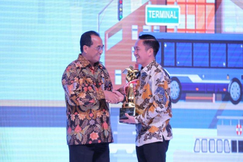 Kota Palembang  raih penghargaan Wahana Tata Nugraha 2019