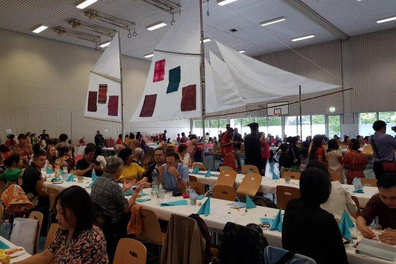 Warna Sulawesi Selatan warnai pertunjukan budaya di Swiss