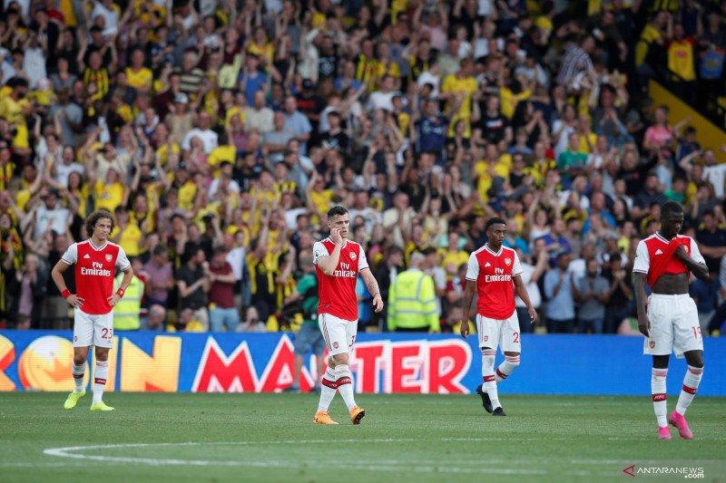 Arsenal ketakukan lawan Watford di babak kedua