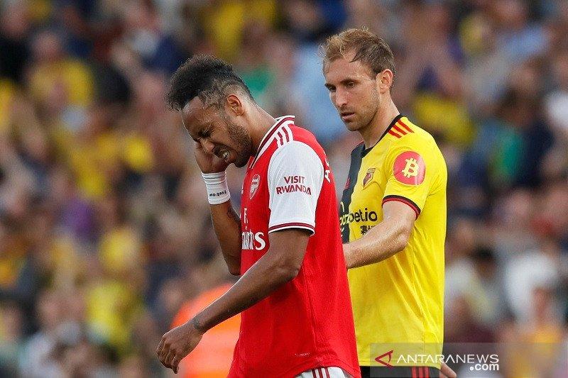 Arsenal ditahan imbang Watford