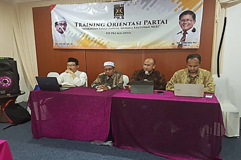 PKS Malaysia gelar pelatihan orientasi partai