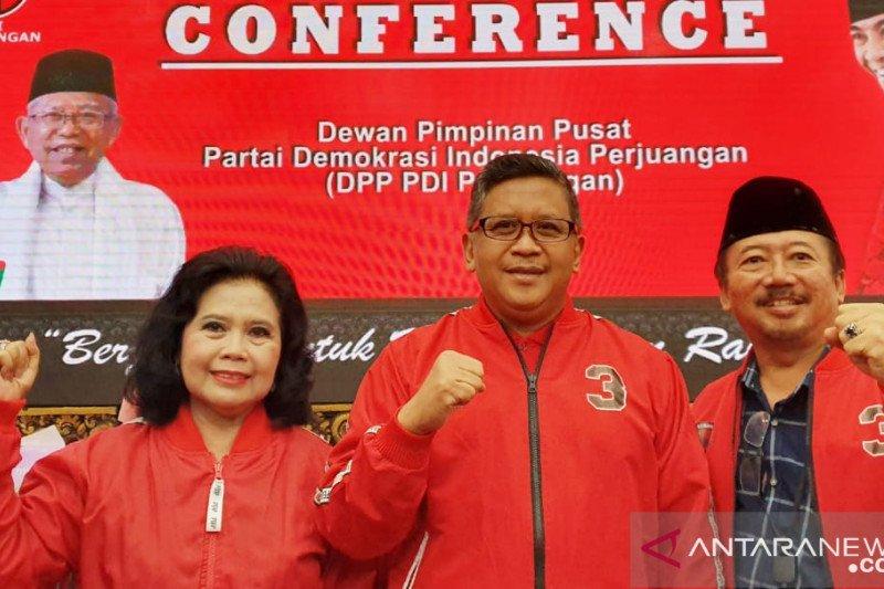 Hasto sebut ada media diskreditkan Presiden Jokowi