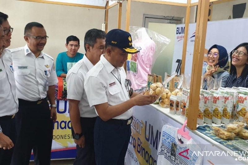 KAI gelar pameran dan bazar UMKM di Stasiun Tanjung Karang