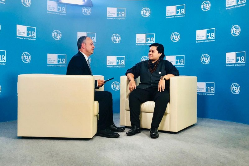 Bahaso wakili Indonesia pada ajang ITU Telecom World 2019