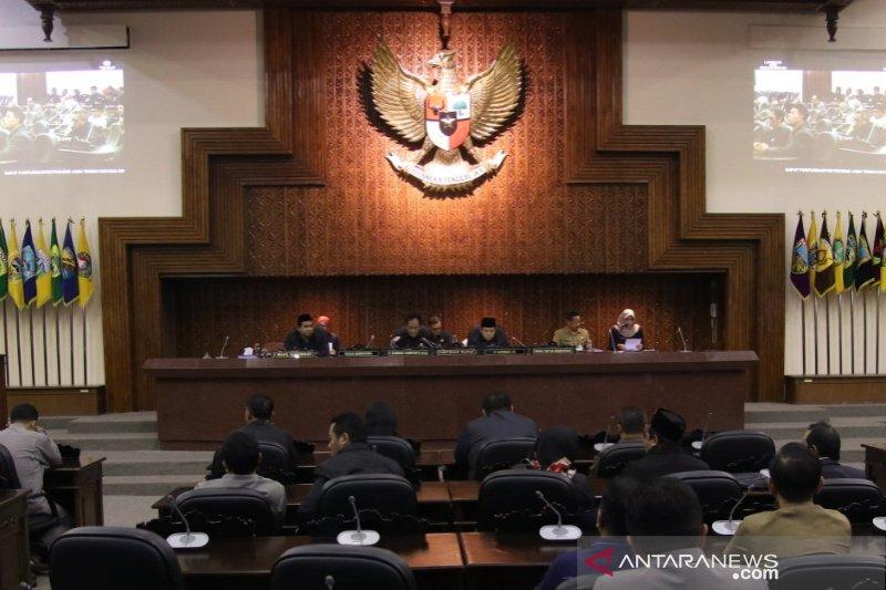 Lima calon pimpinan definitif DPRD Jateng diumumkan pada rapat paripurna