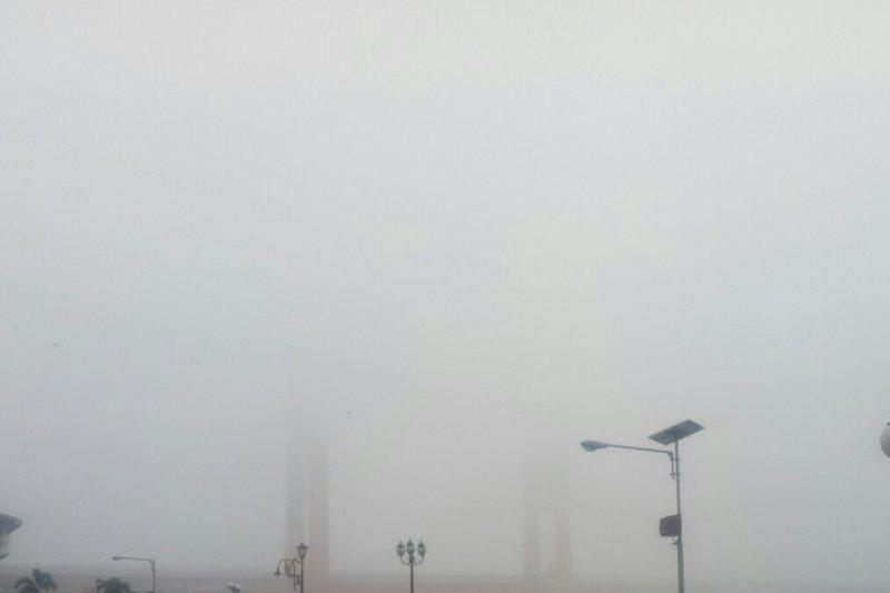 BMKG: Malam hari udara Kota Palembang sangat tidak sehat