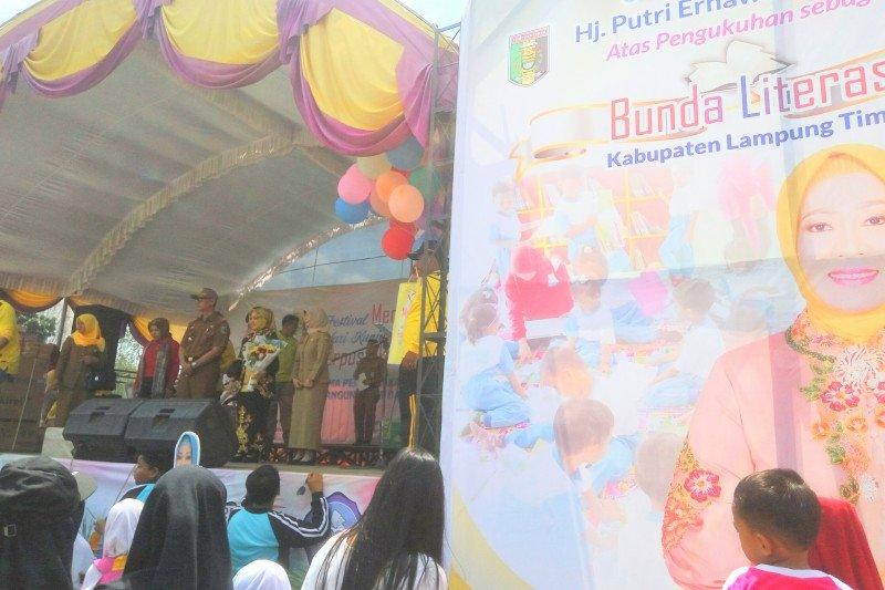 Lampung Timur sekarang miliki Bunda Literasi