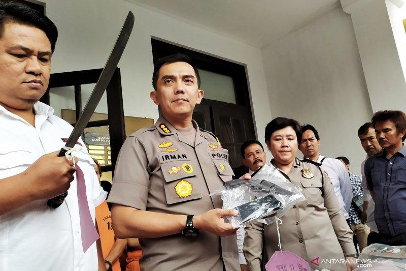Polrestabes Bandung tangkap puluhan pelaku kriminal