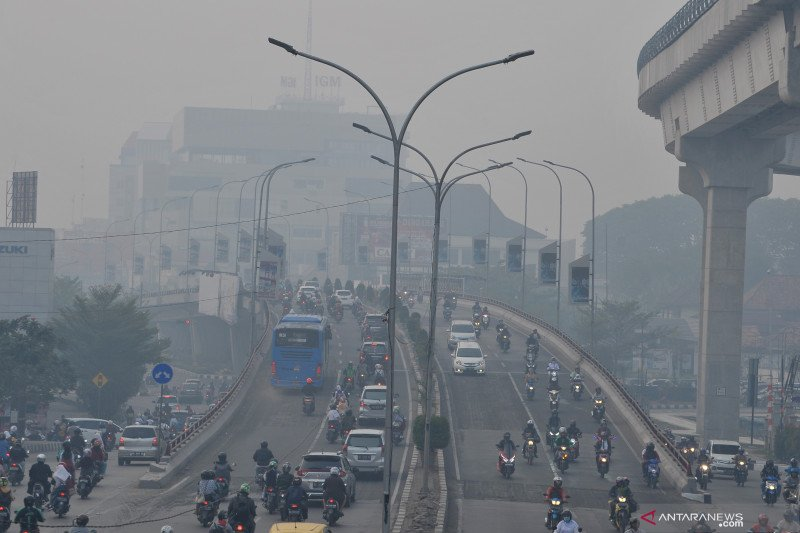 BMKG: Kualitas udara Palembang sentuh level berbahaya