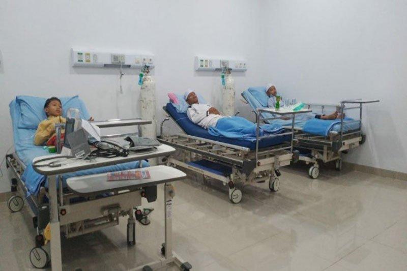 Warga Kalteng terkena ISPA akibat asap dibebaskan biaya berobat