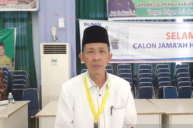 jamaah Debarkasi Batam meninggal 40 orang