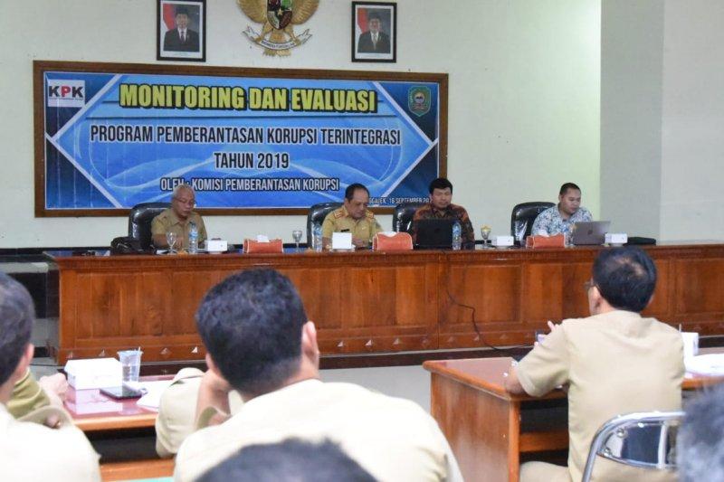 KPK evaluasi program  pencegahan korupsi terintegrasi