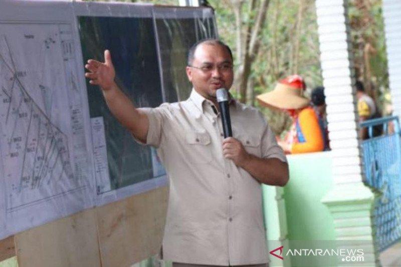 Akibat kemarau, seratusan hektare padi sawah di Bangka Selatan gagal panen