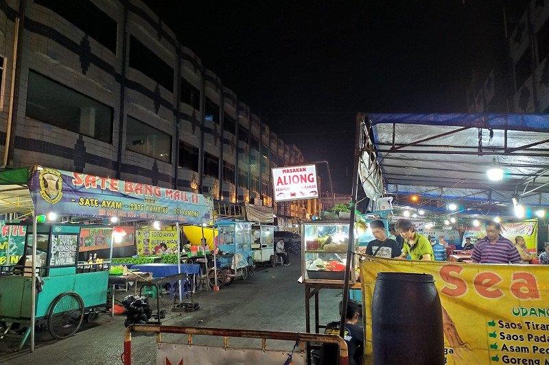 Kuliner seafood, potensi wisata malam Bandarlampung