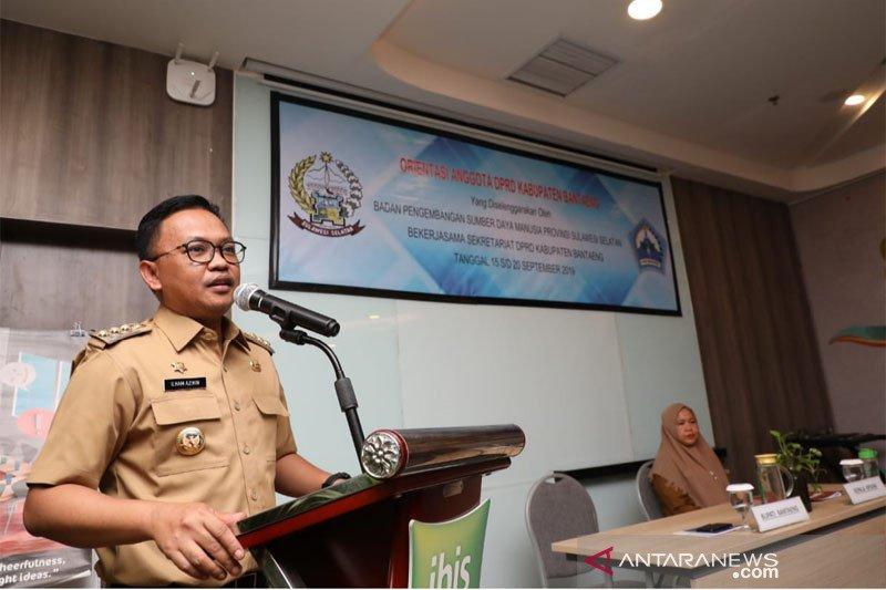 Bupati ajak anggota DPRD satukan visi membangun Bantaeng