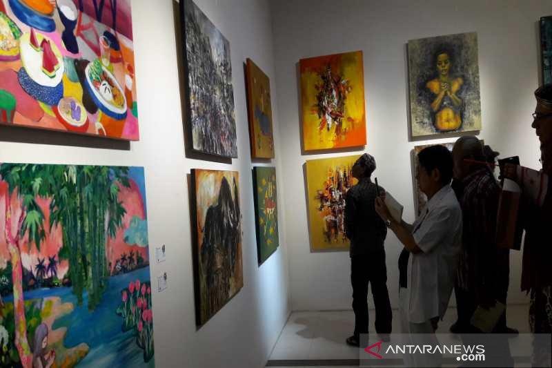 Seniman dari 17 negara ikuti pameran seni rupa di Borobudur