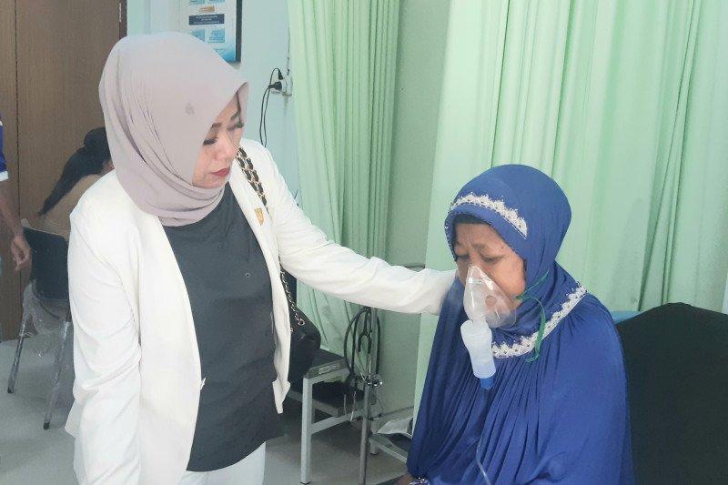 Kunjungi Puskesmas, Anggota DPRD Pekanbaru pantau pasien terdampak ISPA