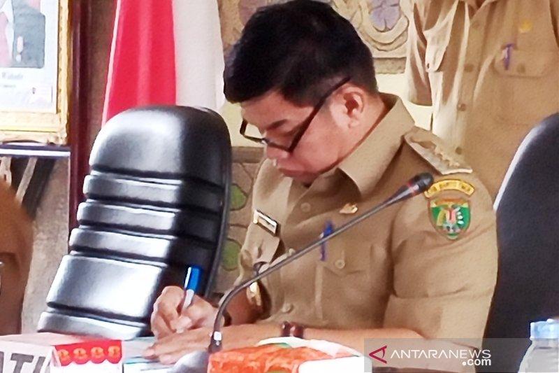 RDTR Kota Tamiang Layang terganjal izin usaha pertambangan