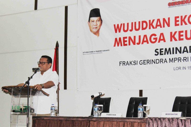 Fary Francis: Kembalikan citra Gerindra sebagai partai nasionalis