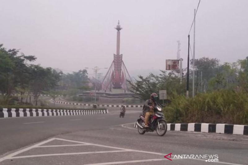 Kualitas udara di Kuala Kurun masuk kategori sangat berbahaya