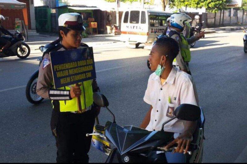 Sebanyak 1.048 pelanggar lalin ditindak polisi dalam operasi Patuh 2019