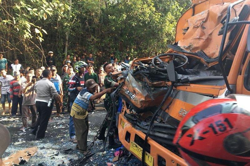 Nama korban luka  dalam kecelakaan maut di Waykanan