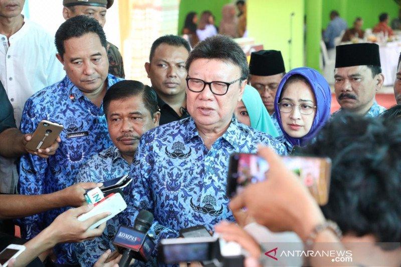 Presiden tegur Pemda Riau, Mendagri: Kada harus punya tanggung jawab