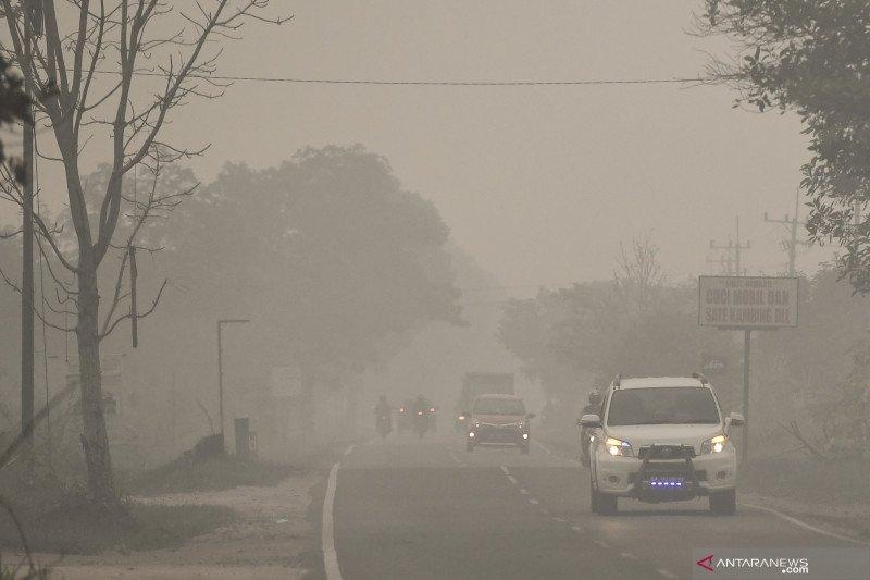 Akibat kabut asap, sekolah di Nunukan diliburkan