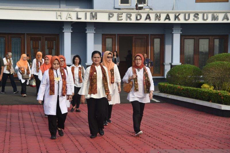 Ibu Negara sosialisasi bahaya narkoba di Palembang