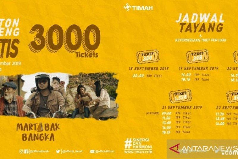 3.000 tiket gratis film