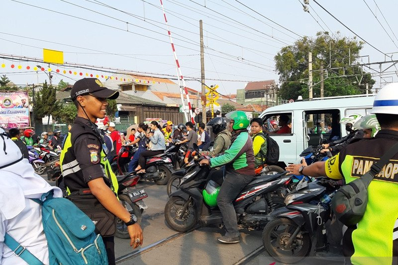 Kemenhub: Pelintasan kereta Bukit Duri kemungkinan pakai
