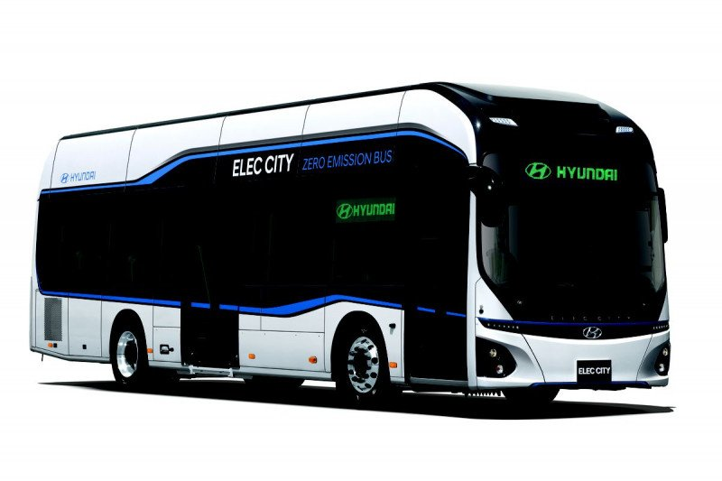 Bus listrik Hyundai sudah dilengkapi informasi terkini