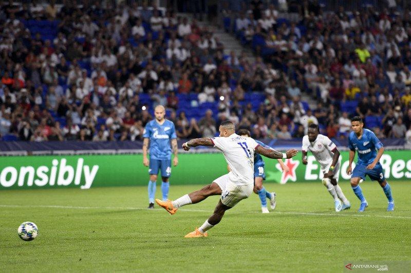 Depay cetak gol, Zenit nyaris permalukan Lyon