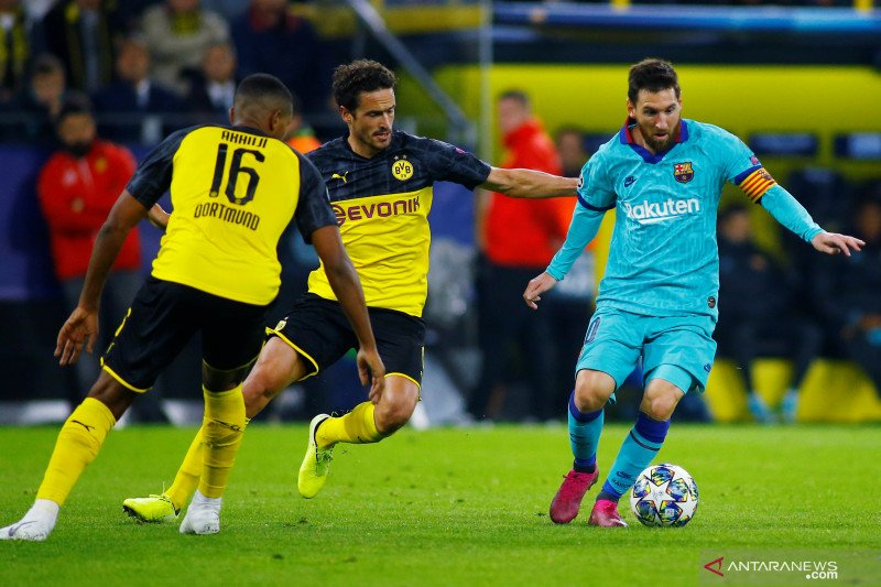 Valverde senang dengan penampilan Messi