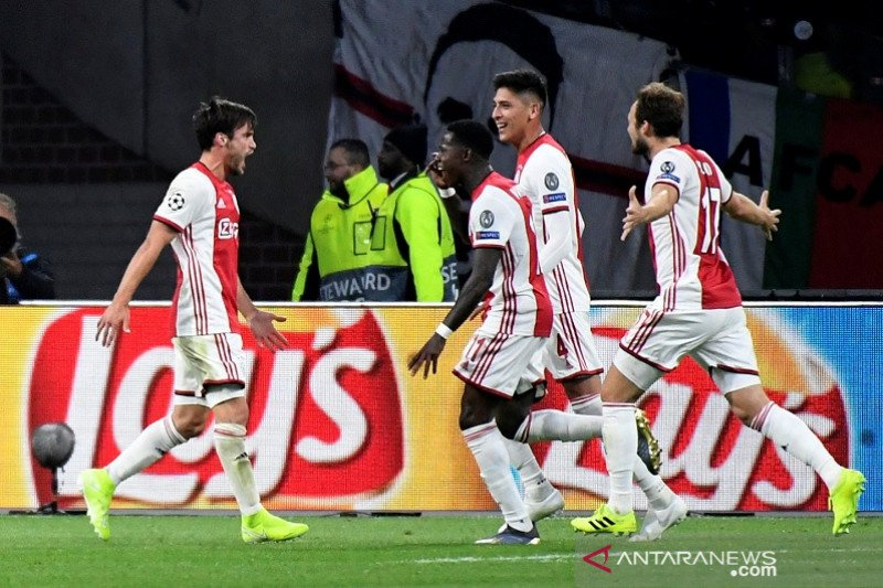 Ajax kalahkan Lille tiga gol tanpa balas
