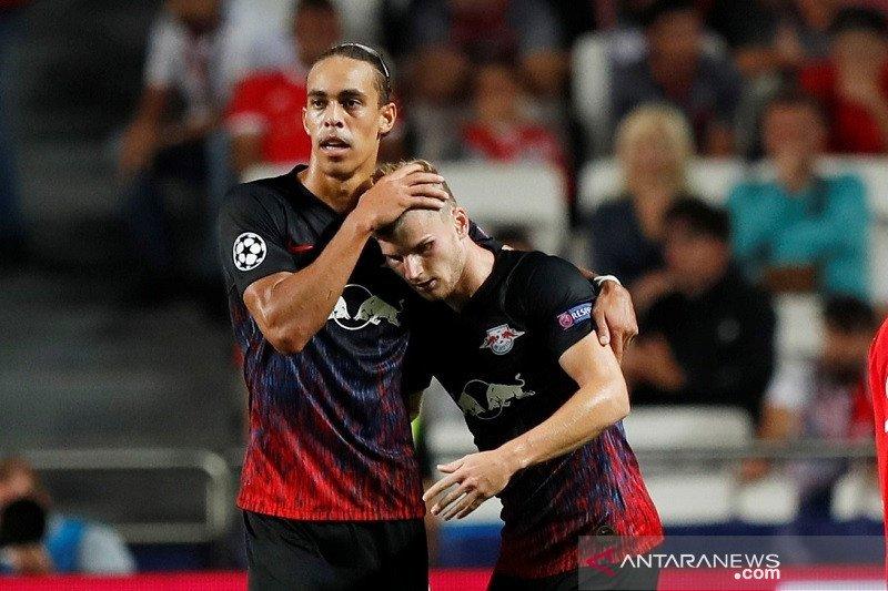 Werner cetak dua gol, Leipzig menang atas Benfica