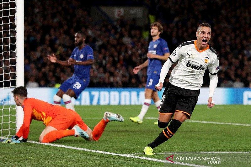 Valencia kalahkan Chelsea di Stamford Bridge