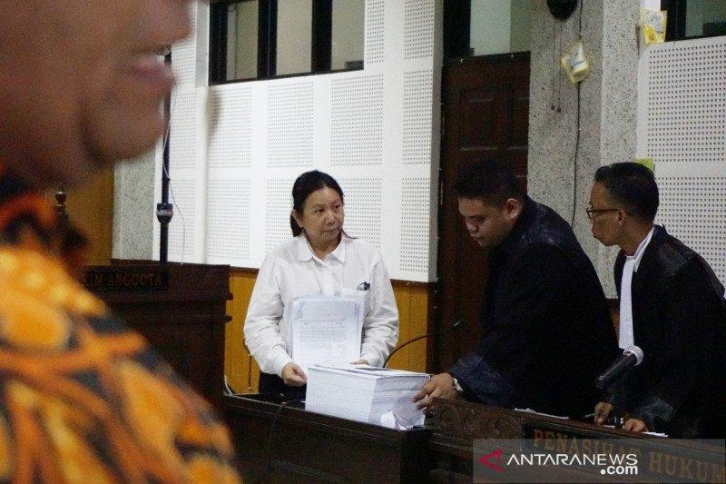 Terdakwa Liliana sampaikan alasan berikan suap ke imigrasi