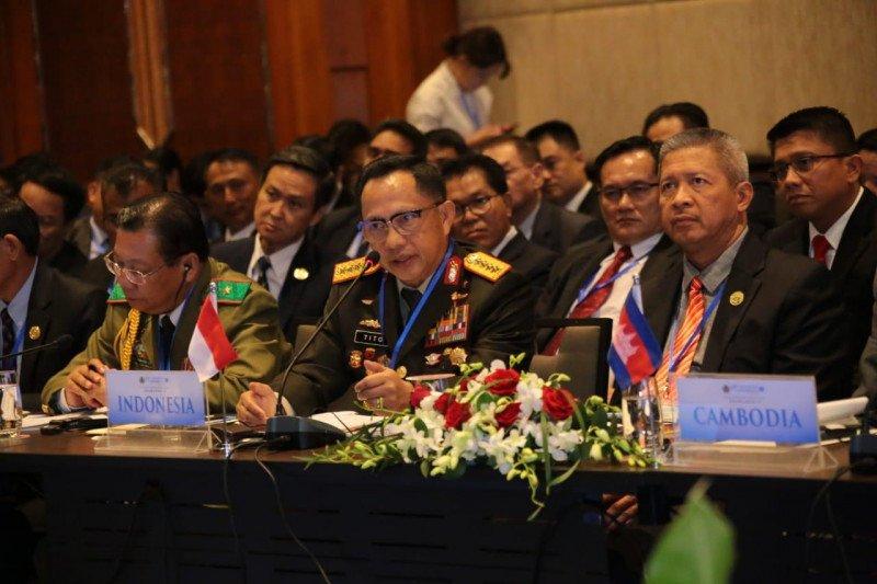 Kapolri pimpin delegasi Indonesia di Konferensi Ke-39 ASEANAPOL