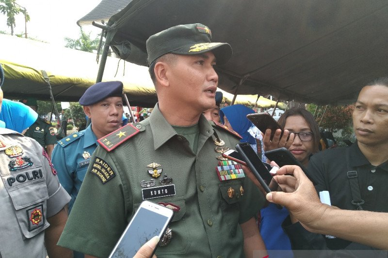 250 orang prajurit Korem Wirabraja ditugaskan ke Bagian Barat Kalimantan