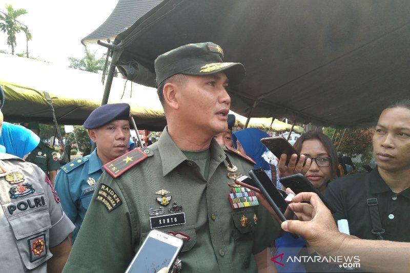 Korem 032 Wirabraja turunkan personel bantu pemadaman titik api Riau