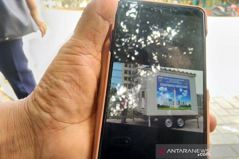 Sudin LH Jakut survei lokasi stasiun pemantau kualitas udara
