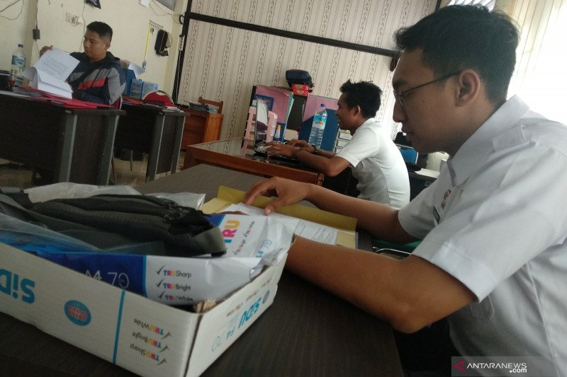 Meski didemo, pegawai Kemenkumham NTB tetap beraktivitas