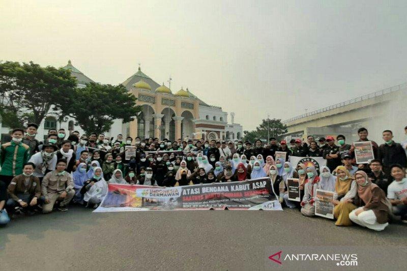 ACT Sumsel gandeng 24 komunitas galang kepedulian korban asap