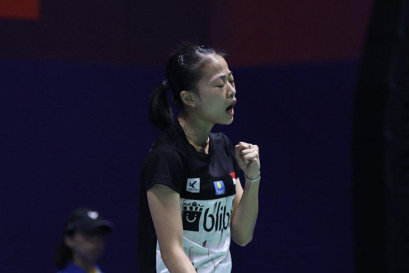 Fitriani akui Kim Ga bukan lawan yang mudah di China Open 2019