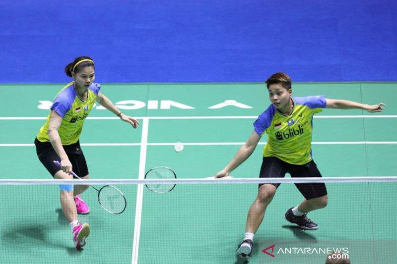 Perempat final China Open, Owi/Winny tantang unggulan kedua