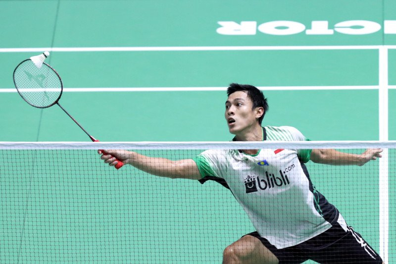 Shesar Hiren kalah, tunggal putra Indonesia sisakan Ginting di China Open