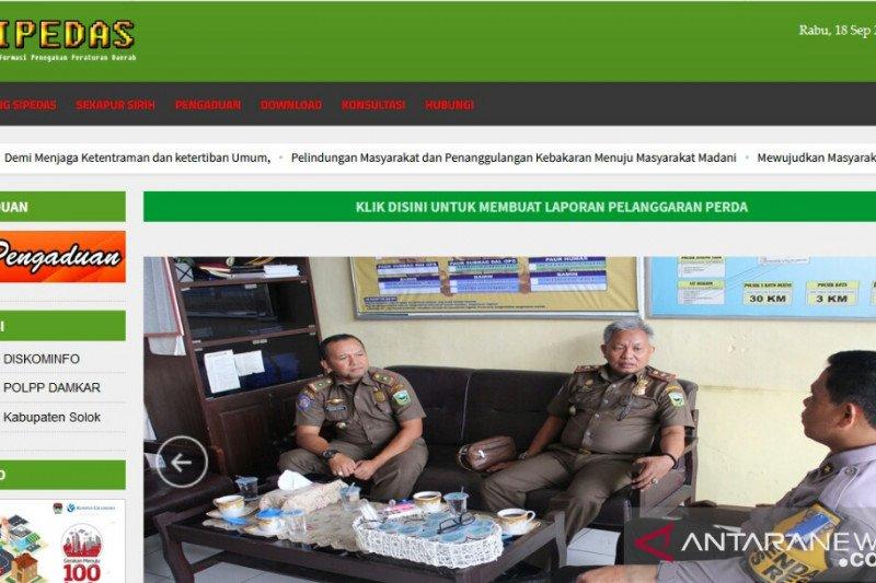 """Ciptakan """"Sipedas"""", Satpol PP Damkar Kabupaten Solok menuju digitalisasi pelayanan"""