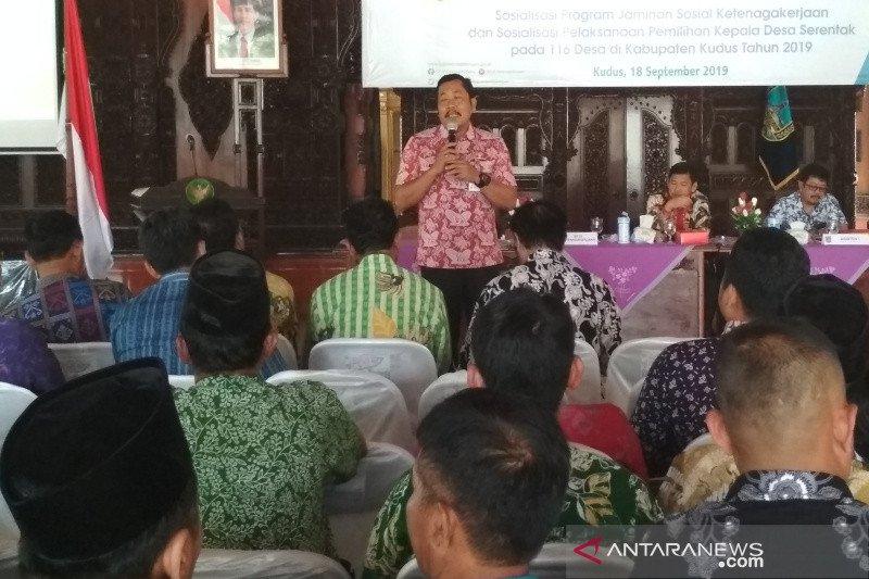 Pemkab Kudus sosialisasikan tahapan pilkades di 116 desa